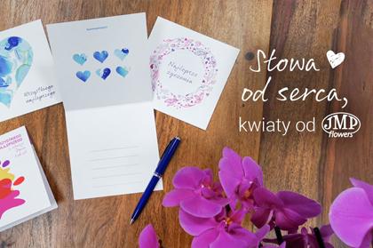 Słowa od serca kwiaty od JMP Flowers