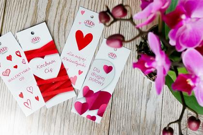 Walentynkowe zawieszki